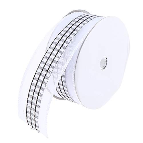 FLAMEER 20 Yards Classic Square Lace Nähbesatz Nähen Trim Crafts Ribbon Band 38mm - Schwarz