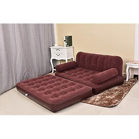 FEI&S divano gonfiabile letto gonfiabile floccato divano letto doppio divano
