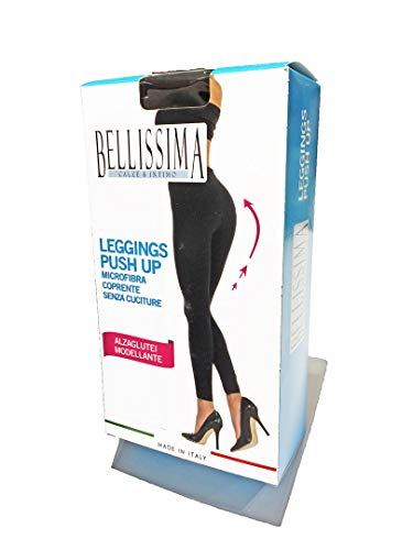 Leo corsetteria leggings donna push up coprente modellante alzaglutei marca bellissima