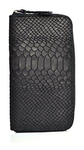 compagnon-portefeuille-porte-monnaie-3440-noir-cuir-mat-facon-python-fabrique-en-italie
