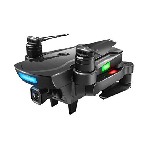 Fuibo GPS Klappdr Drohne, Brushless 2.4G FPV Wifi HD Kamera GPS Höhe Halten Quadcopter Drone Echtzeitbildübertragung, Foto, Video, APP-Steuerung, Geschwindigkeitssteuerung (B_Mit 1080P HD-Gimbal-Kamera)