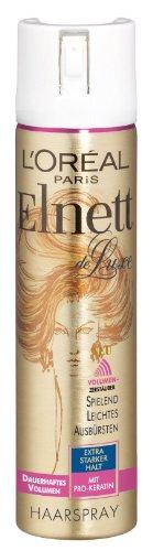 L'Oréal Paris Elnett de Luxe - Haarspray dauerhaftes Volumen 3er Pack (3 x 75 ml)