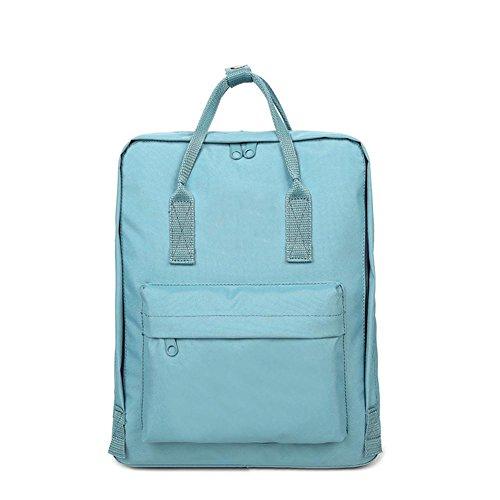 Baisde Moda Zaino Multifunzione Casual Zaino Oxford Cloth Scuola Impermeabile Borse per Uomini e Donne, Sky Blue