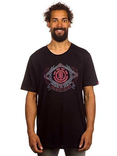 Herren T-Shirt Element Wwfe T-Shirt Black