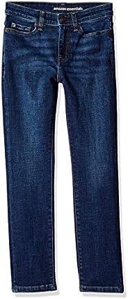 Amazon Essentials Jeans Slim-Fit Elasticizzati Bambino