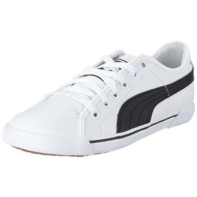 Puma Benecio 351038, Unisex-Erwachsene Sneaker, Weiß (white-black 02), EU 40.5 (UK 7) (US 8)