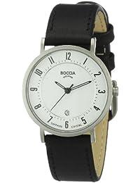 Boccia Damen-Armbanduhr Mit Lederarmband Dress 3154-06