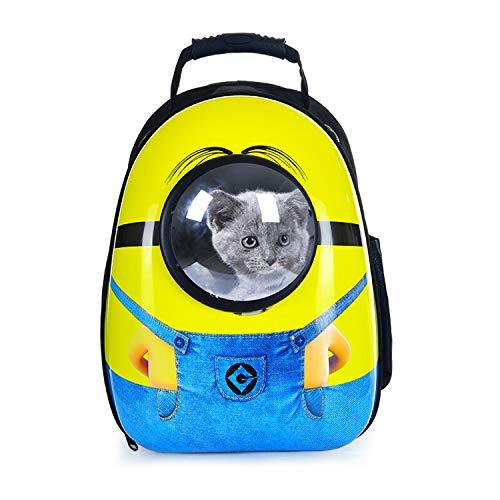 X/Y Y/X Pet Out Reisetasche , Katze/Hund Tragbarer Rucksack Tragetasche for Haustiere Atmungsaktive Tragetasche for Haustiere Gelbe Pet Air Box Blaue Tragetasche for Haustiere (Design : B)