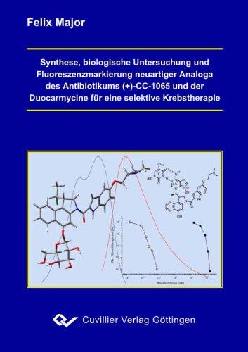 Synthese, biologische Untersuchunge und Fluoreszenzmarkierung neuartiger Analoga des Antibiotikums (+)-CC-1065 und der Duocarmycine für eine selektive Krebstherapie