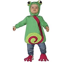 Atosa 26450 - traje de la rana, bebé, tamaño 12-24 meses, verde