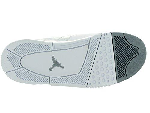 Nike Slvr Mtllc Basketballschuh Mtllc Prata Flight23 Branco Jordan vxwBqrXv