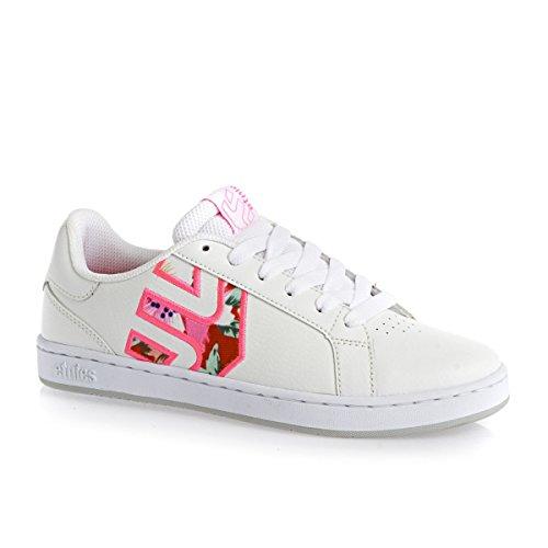 Etnies , Chaussures de skate homme bianco (white/pink/white)