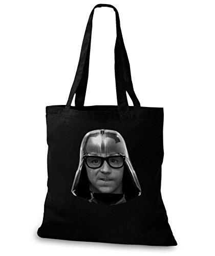 StyloBags Jutebeutel/Tasche Garth Vader, Farbe:schwarz