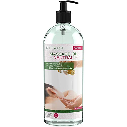 MyThaiMassage Massageöl Neutral & Soft 1-Liter (1000ml)