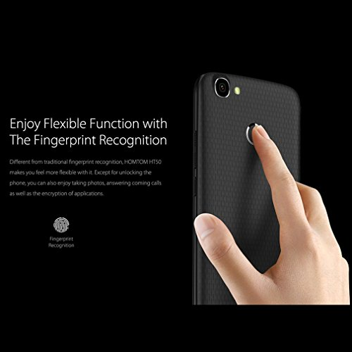 Smartphone Libre  LESHP HOMTOM HT50 de 5 5 Pulgadas de Pantalla Dual Sim Card Mobile 5500MAH Big Battery 3   32 GB de Memoria 4G de Tel  fono Para And