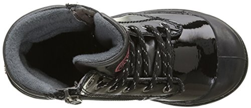 Palladium Wendy Verni K, Baskets Hautes Fille Noir (315 Black)