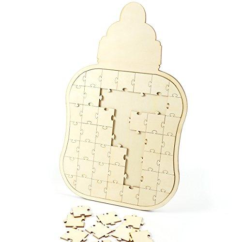 CLE DE TOUS - Puzzle Madera Libro Firmas Libros visitas
