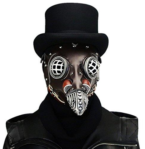 Wei zhe Damen und Herren Steampunk mittelmeerschönheit Schnabel Maske Halloween Party Party Requisiten