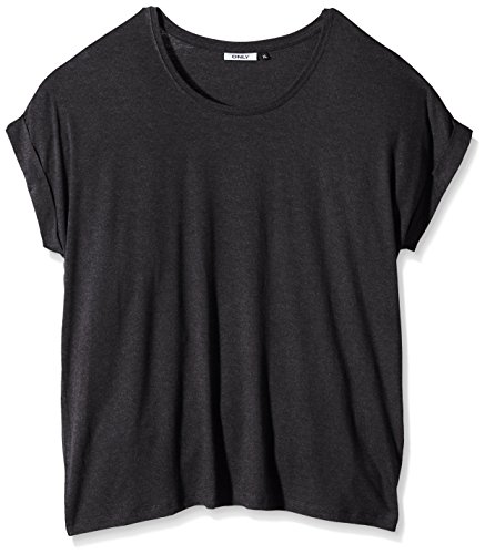 Only Onlmoster S/S Top Noos Jrs, T-Shirt Femme Noir (Black)