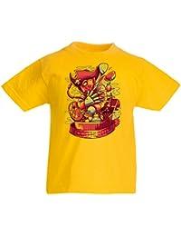 lepni.me Camiseta Niños/Niñas El Cazador de Comida, Freddy - Pesadilla de