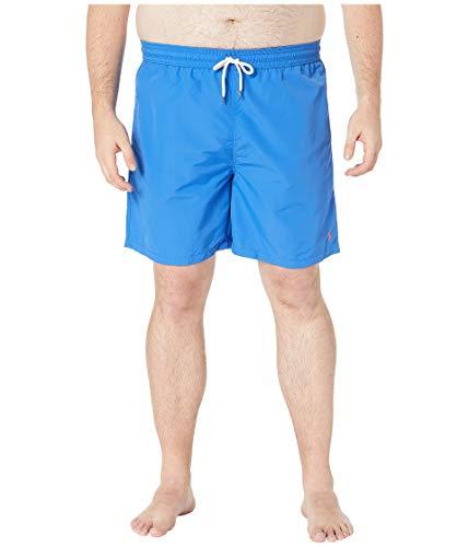 Ralph Lauren Polo Herren Badehose aus Nylon, groß und hoch - Blau - 3X Groß
