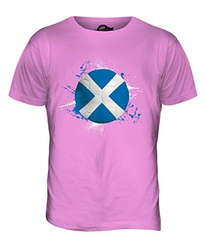 CandyMix Schottland Fußball Herren T Shirt Rosa