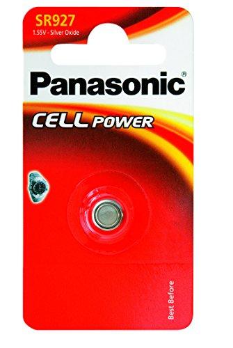 Produktbild Panasonic SR 927 EL Silberoxid-Uhrenbatterien Knopfzelle (1,55V, 55mAh)