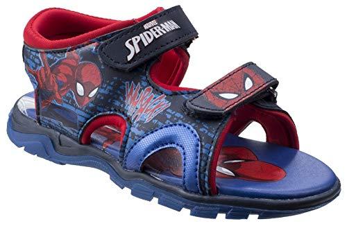 Leomil Jungen Spiderman Schuhe Sandalen Blau 26