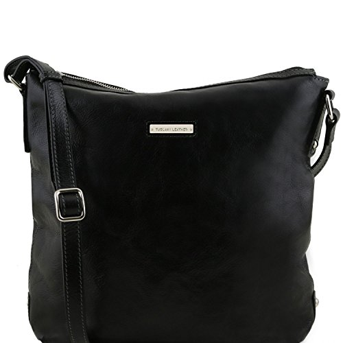 Tuscany Leather Alice - Borsa donna shopper in pelle - TL141480 (Nero) Nero