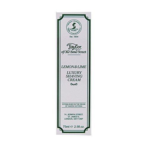 Lemon Lime Shaving Cream (Taylor Of Old Bond Street Shaving Cream Lemon-lime Tube, 2.5-Ounce by Taylor of Old Bond Street)