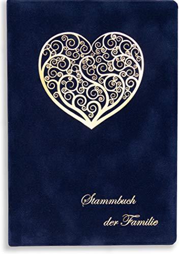 Sale Stammbuch Blau Sena Herz Familienstammbuch Hochzeit Standesamt