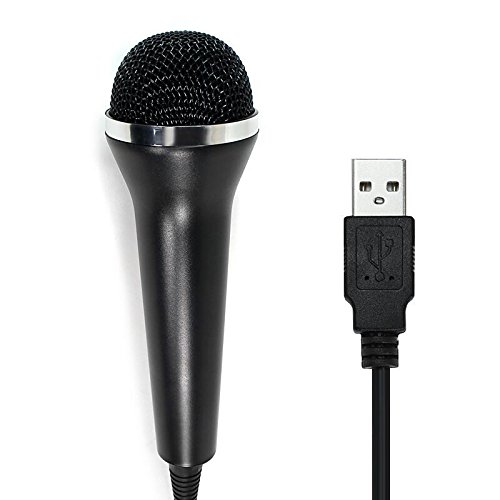 Childhood Wired USB Microphone for PS2, PS3, WII, XBOX360 & PC