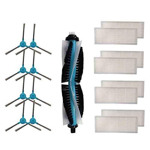 SODIAL Cepillo Principal de Repuesto, Cepillo Lateral, Filtros Hepa para Cecotec Conga 1390 Cecotec...