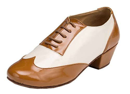 MGM-Joymod Mens Classic Fashion Lace-up Closed Toe Salsa Tango Samba Jazz Rumba Ballroom Latin Modern Dance Shoes Evening Wedding Shoes