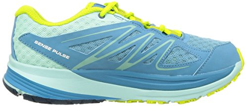 Salomon - Sense Pulse, Scarpe da corsa Donna Blu (Blau (Mist Blue/Igloo Blue/Gecko Green))