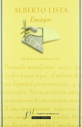 Alberto lista - ensayos