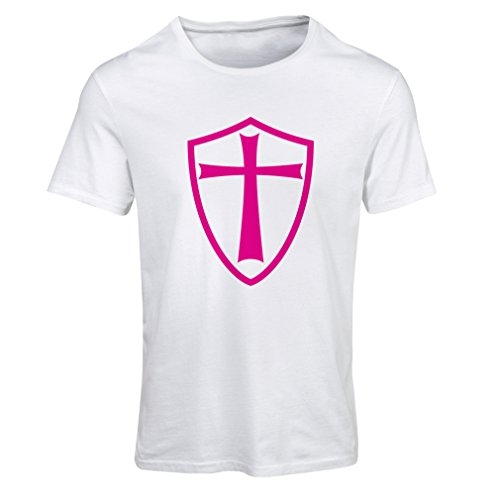 Lepni.me Camiseta Mujer Caballeros Templarios - Escudo