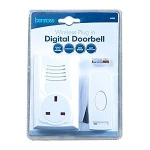 Lectrolite 41010 Plug-In Wireless Door Bell