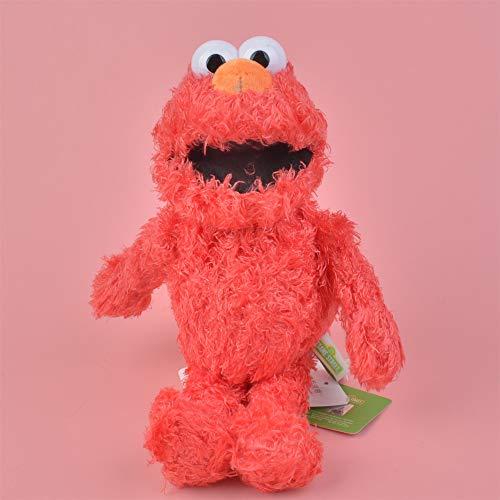Wygnra Plüschtier 30Cm Elmo Plüschtier Für Nettes Baby- / Kindergeschenk, Plüsch-Angefüllte Puppe Freies Verschiffen