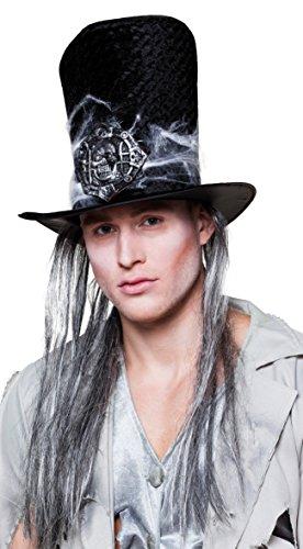 Boland 72137 - Hut Grabräuber Zora mit Haar für Erwachsene, Sonstige (Mit Hut Haar)