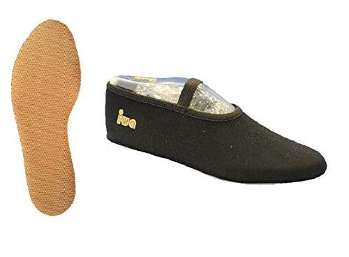 IWA 250 Trampolin Schuhe Gymnastikschuhe Turnschläppchen: Größe: 38 | Farbe: schwarz