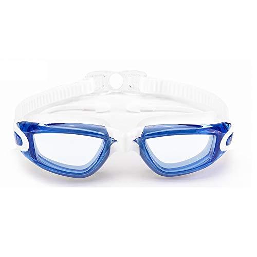 Transparente Brille Myopie wasserdicht Anti-Fog HD großen Rahmen Schwimmbrille Erwachsene Männer und Frauen Schwimmbrille Badekappe Set Kaufen und senden Badekappe Nase Clip Ohrstöpsel plus Handy wass