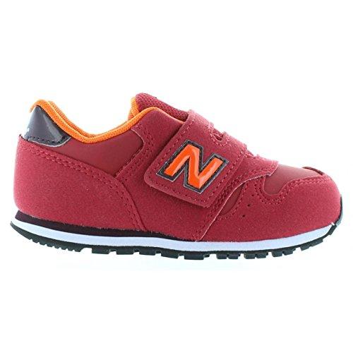 New Balance KV373Z6I Sneakers Garçon Microfibre Rouge