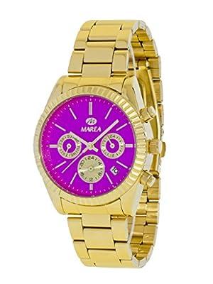 Reloj Marea Mujer B41155/6 Dorado Multifunción Rosa
