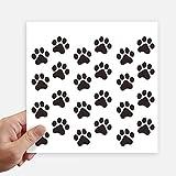 DIYthinker Mignon Paw Animal Chat Imprimer Silhouette Empreinte Autocollant carré de...