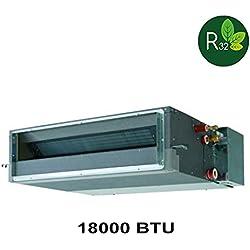 Climatizzatore inverter HITACHI Light Commercial R32-18000 BTU climatizzatore canalizzabile media prevalenza RAC-50NPD + RAD-50PPD