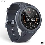 Xiaomi Amazfit Verge Lite Smartwatch Deportivo - 20h de Batería |GPS+GLONASS | Sensor Frecuencia Cardíaca | IP68 Resistencia Agua | Notificaciones-Música |Gris (Versión Internacional) iOS-Android