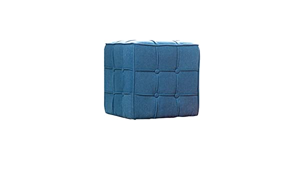 Jilan home stool sgabello nordic blue scarpa panchina tessuto in