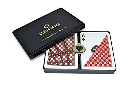 Trademark Commerce CopagT Poker & Bridge Regular Index-Master Design Set von 2 (Master-index)