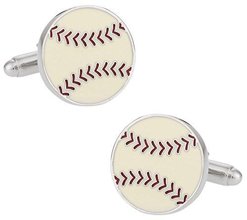 Cuff-Daddy-Gemelli con palla da (Baseball Gioielleria)